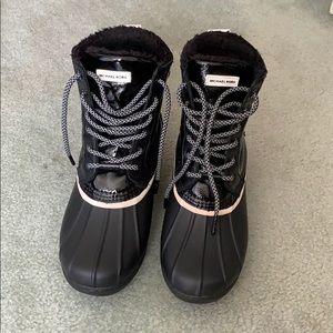 MK duck boots
